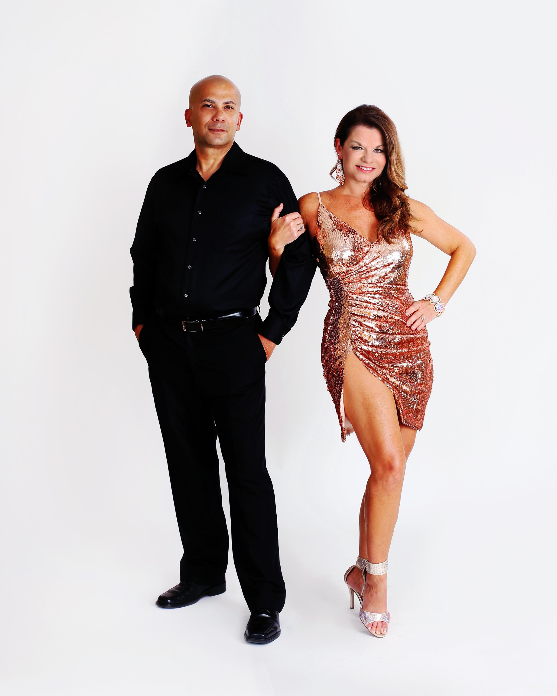 Rey Rodriguez and Melanie Lewis