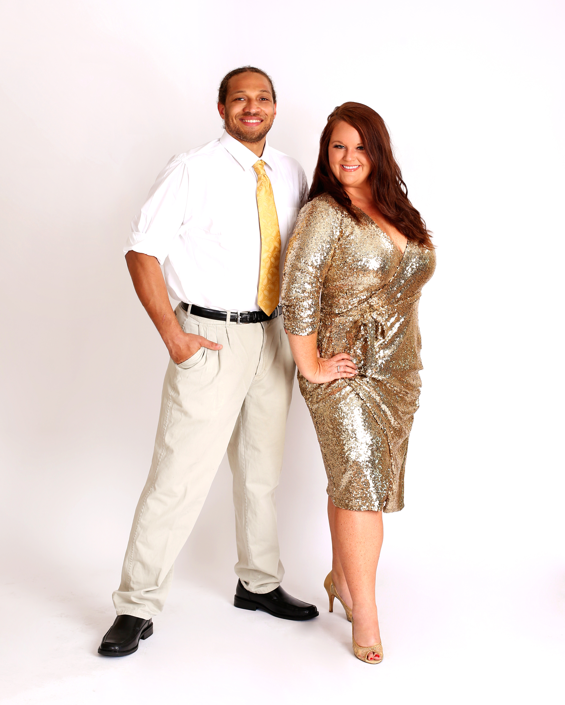 Erica Sellers and Devon Thompson