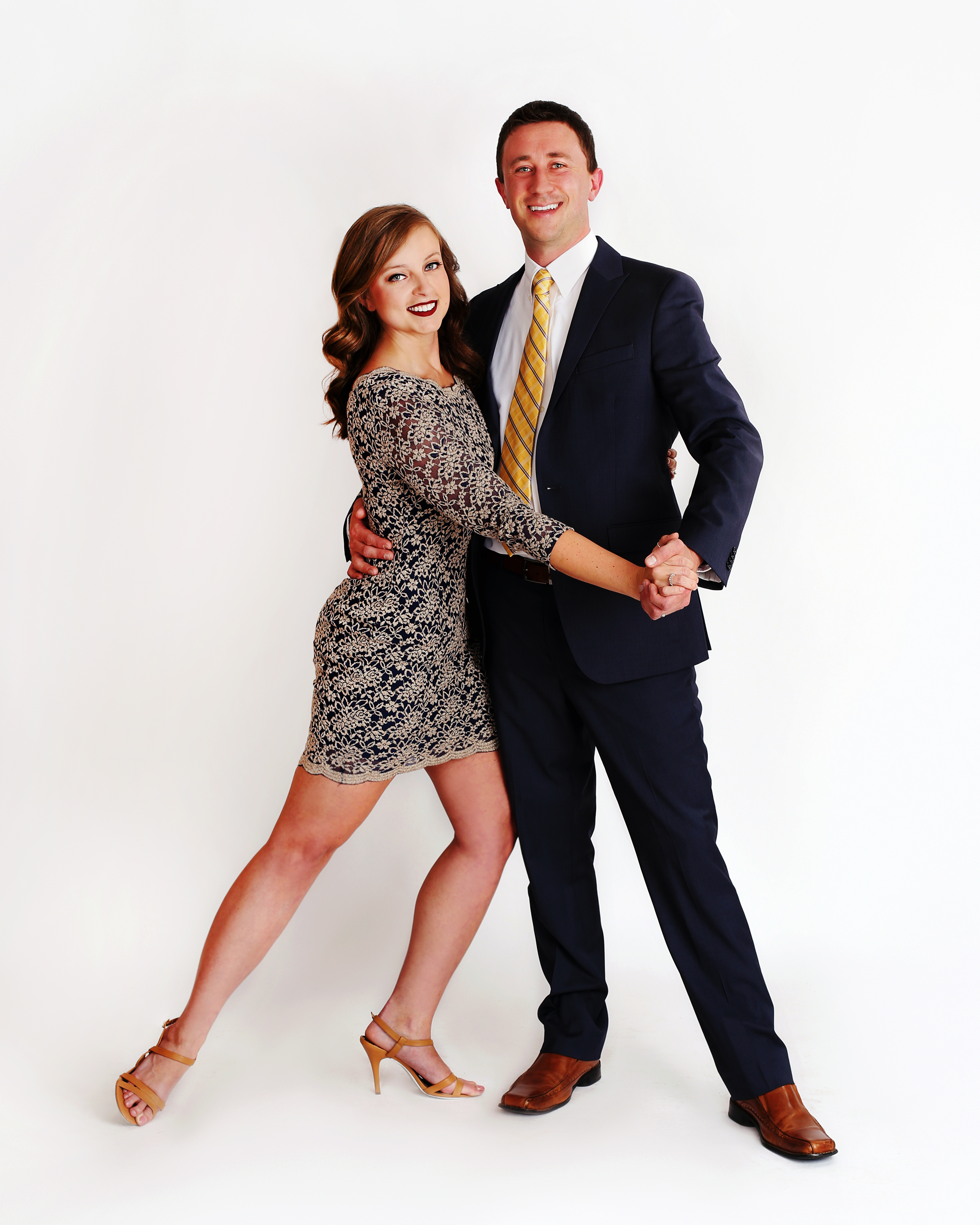 Colin Strub and Katie Byers
